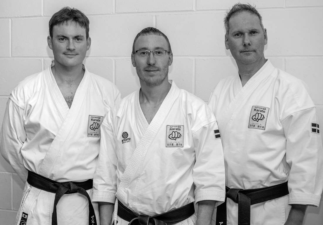 The Cornwall Karate Instructors